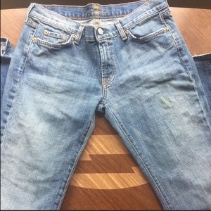 Seven for all mankind jeans size 32x34